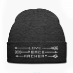 Schöne Mütze für den Bogensport
