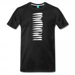 Shirt für den Bogensport mit Feder